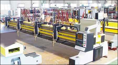 H Beam / Box Beam Production Line Machines