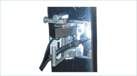 Auto Welding Machine with Weaving Option